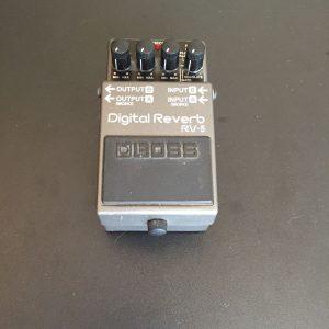 Boss Digital Reverb RV-5 Guitar pedal image