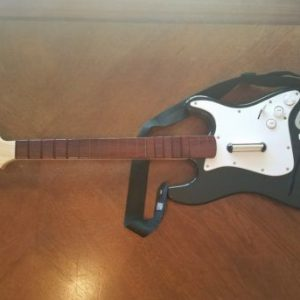 Xbox 360 Rock Band Wireless Controller Fender Stratocaster Guitar! Works, Xbox image