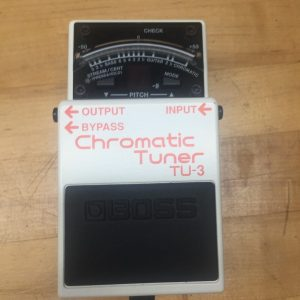 Boss TU-3 Chromatic Tuner Tuning Pedal Electric Guitar image